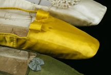 1830-1840 accessories -:  bonnets, jewelry. gloves, shoes,pelerine.