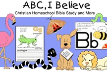 children's Bible lessons/ABCs