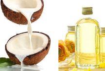aceites, mascarillas y cremas