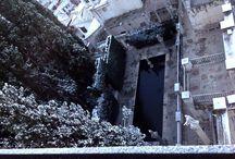 Nieve en la Fundación Rodríguez-Acosta / Febrero 2015