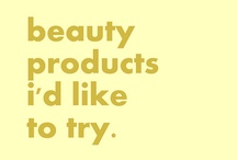 vanity fare 'products to try' / by bud pnq
