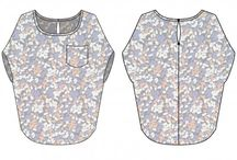 blouse chauve souris