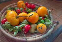 Cuisine Santé Nature / une cuisine variée, du bon sens, des produits plutôt bios, locaux si possible, tendance végétarienne mais sans intégrisme, intégration de plantes et de fleurs fraiches,