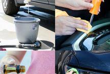 Nettoyage de la voiture