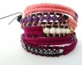 wrap bracelets / Original wrap bracelets, hand made in France, by Amamelisse. You can buy them here : http://www.alittlemarket.com/boutique/amamelisse-284530.html