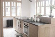 Vloer zitkamer/keuken
