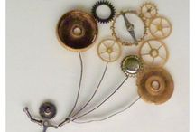 Art - No Tickerty / Pictures made from mechanical watch components.