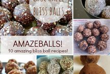 Bliss Balls / Bliss ball recipes