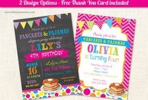 Pancakes & Pajamas Party / by Natalie Clements