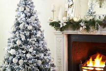 Christmas Tree Decoration – White And Silver As Christmas Tree Decoration