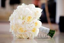 Buchet miresa din hortensia si trandafiri albi / buchet mireasa si nasa din hortensia si trandafiri albi