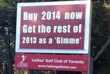 Ladies' Golf Club of Toronto / Established in 1924.  The only private club in North America operated by women, for women.