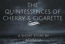 cherry and cigarette