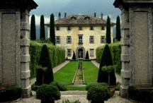 Great places / Wonderful gardens in villas, golf parks and green parks