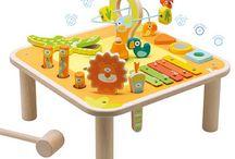 Baby en peuter speelgoed / Je eerste stapje en je eerste speelgoed. Je leert de omgeving verkennen en vormen herkennen.