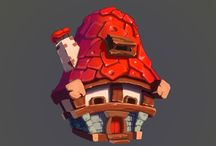 Drawing - Game props