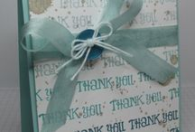 Thank You cards & ideas / by Sandy Fleming