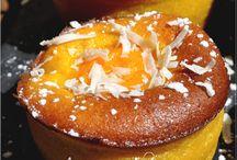 gâteaux aux fruits