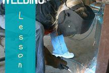 Welding / by MyLove2Create