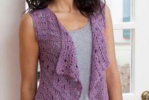 Crocheted tops / #4