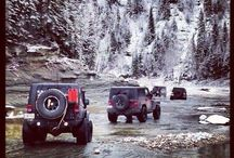 it is such a MAN thing.( JEEPS AND TRUCKS ON TRIPS)