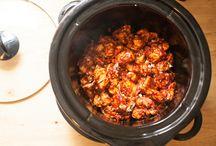 Gluten-free slow cooking - crockpot / Gluten-free slow cooking - crockpot     Sommige recepten zijn niet glutenvrij, maar dat kan je zelf glutenvrij maken. Het gaat om het idee.