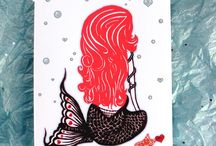 Valentines Day 16 / Valentine's Day Card Collection 2016  Art by Serpenthes // Printing by Line 117 Paper