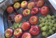Clearing Fruits from chemicals