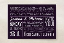 Invites / by LBV Weddings