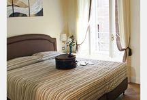 Camera Cesare / Una comoda, rilassante ed elegante camera per chi viaggia a Roma da solo, sia per lavoro che per vacanza.