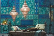 Arabic/ oriental influences in home decor