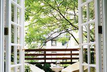 balcony, taras