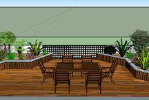 Aménagement de balcon et terrasse à Bordeaux