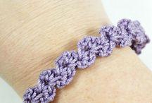 Haken armbanden / crochet bracelet