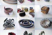 bijoux fait en fermeture éclair