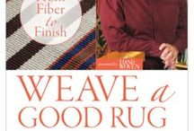 How to Weave / This board is dedicated to all the tips and tricks that make weaving more pleasant. It also includes some great DIY instructions for making your own supplies.  / by Interweave