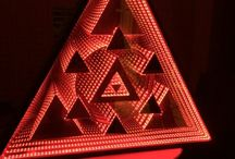 Infinity LED mirror for Cartel London