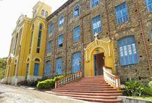 Ceará em Fotos e Histórias: O Mosteiro dos Jesuítas em Baturité, Ceará - BRASIL