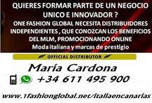 1 FASHION GLOBAL-ITALIAENCANARIAS / ¿Te gusta el mundo del mlm y la moda y quieres saber como vestirte gratis? contactame y te lo explico. Whatsapp: +34 611 495 900 , E-mail: 1fashion.italiaencanarias@gmail.com