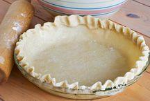 Pâte à tarte préparée avec du lait