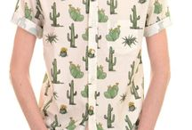 Camisas estampadas vintage