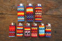 Navajo Barbara ' s beaded  patterns