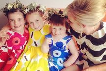 Marimekko Fabric Ideas / What to do with your Marimekko fabric, ideas from https://instagram.com/kiitosmarimekko/