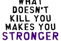 ¡Perseverancia! / El que persevera alcanza... ¡no retroceder y nunca rendirse jamás!