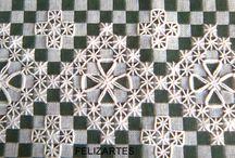 bordado no xadres