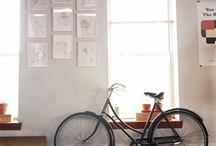 Bicycle in the Room  / Bicycle as Room Decor