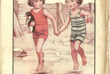 illustrert barn farge