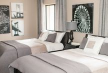 guest room / Be our guest ~ Make yourself at home