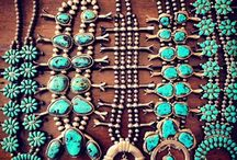 Icons / Iconic jewelry styles including Native American and southwest art.