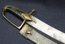 swords , faschinenmesser